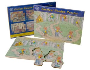 Three Little Pigs Peg Puzzle