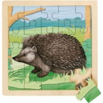RSPB Hedgehog 20 Piece Wooden Jigsaw