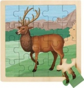 RSPB Red Deer 20 Piece Wooden Jigsaw