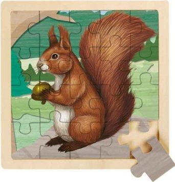 RSPB Red Squirrel 20 Piece Wooden Jigsaw