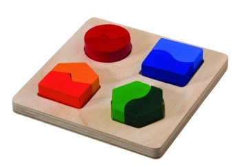 Plan Toys Shape Matching Board