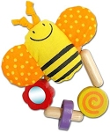 I'm Toy Bee Wrist Rattle