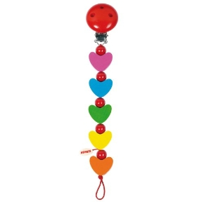 HEIMESS Rainbow Hearts Dummy Chain