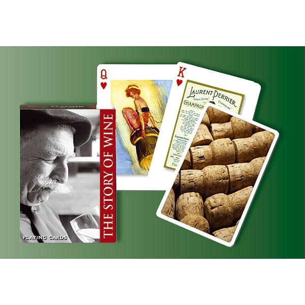 Piatnik Playing Cards - The Joy of Wine