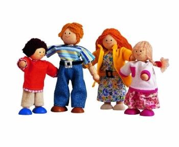 Plan Toys Modern Doll Family