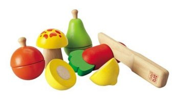 Plan Toys Fruit and Vegetable Play Set