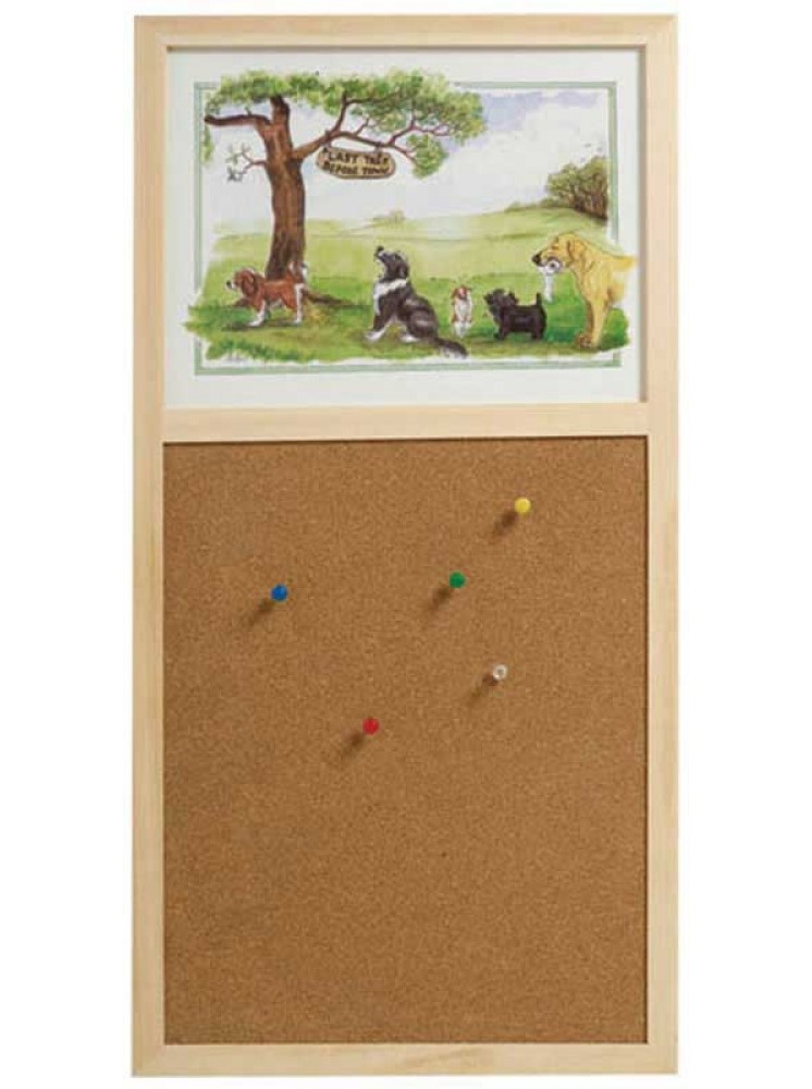 Stow Green Cork Pin Board - Last Tree Before Town
