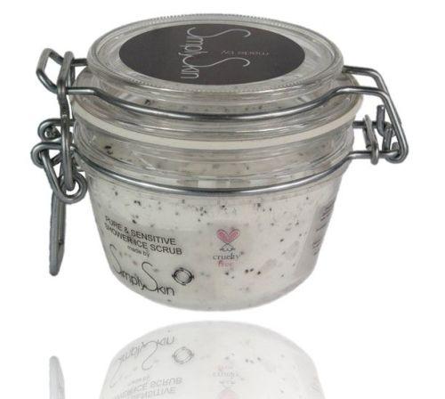 <!--7201--><center>Pure & Sensitive Shower Ice Scrub (unperfumed)</center>