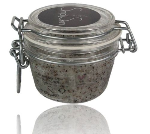<!--090301--><center>Pure & Sensitive Spa Salt Scrub (unperfumed)</center>