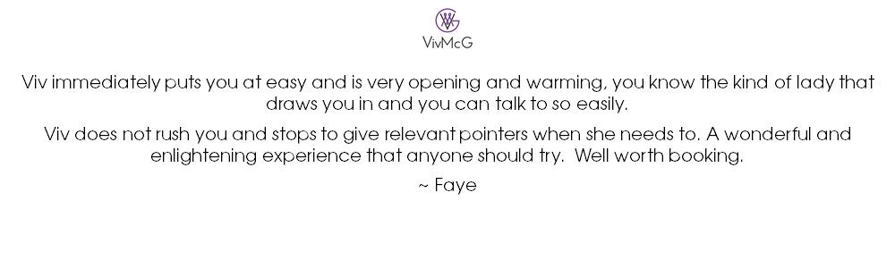 2020 5-card reading - testimonial - Faye