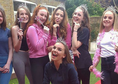Girls pamper parties Kent VIP package
