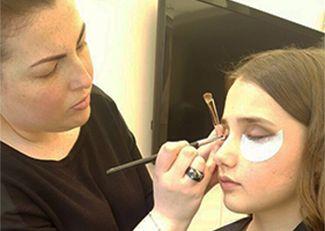 Girls pamper parties Kent makeup