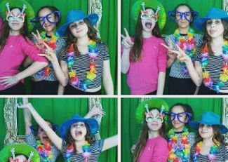 Girls pamper parties Kent selfie pod