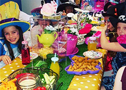 Girls pamper parties Kent themed tea and pamper parties