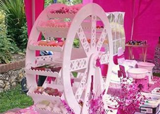 Girls pamper parties Kent extras sweet wheel
