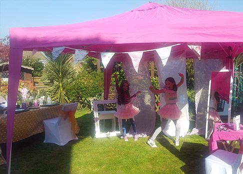 Girls Pamper Parties South East London and Kent Fairy party package