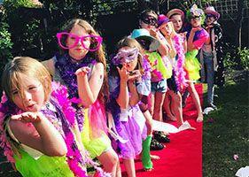 Girls pamper parties Kent dress up