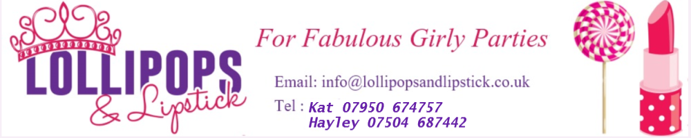 LollipopsandLipstick, site logo.