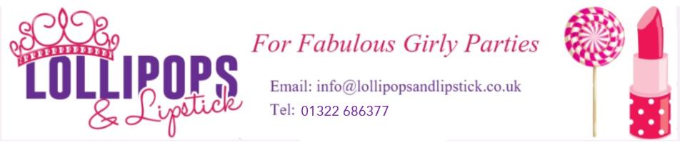 LollipopsandLipstick, site logo.