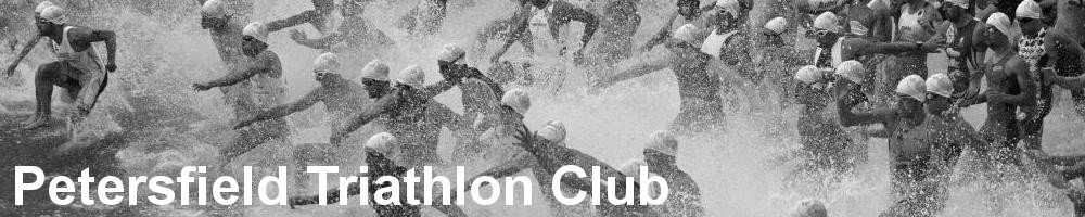 Petersfield Triathlon Club, site logo.