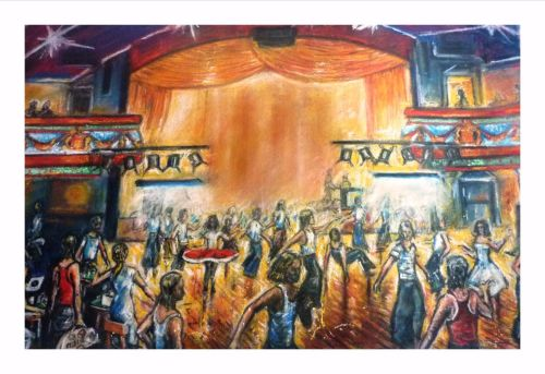 Northern Soul, Wigan Casino, Limited Edition Print
