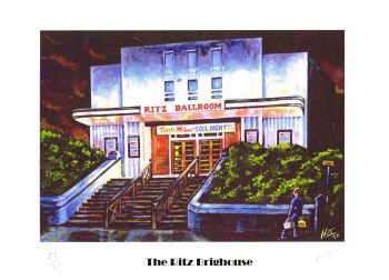 """The Ritz"" - Signed Limited Edition Print, 50 copies commissioned"