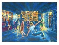 """Dancers at the Wheel"" - Signed Limited Edition Print, 50 copies commissioned"