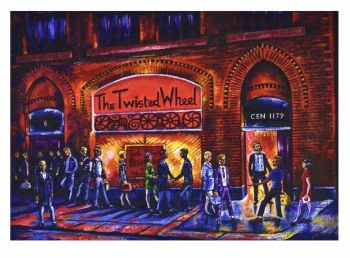 """The Twisted Wheel"" - Signed Limited Edition Print, 250 copies commissioned"