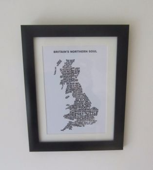 """Britain's Northern Soul 2"" - Mounted and Framed"