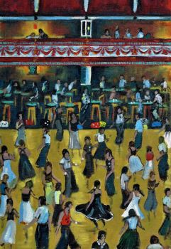 """Northern Soul Dancers, Series 2"" - Five Signed Limited Edition Prints"