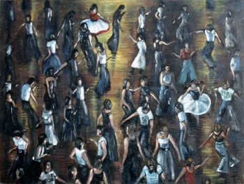 """Northern Soul Dancers, Series 3"" - Five Signed Limited Edition Prints"