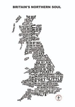 """""""Britain's Northern Soul 2"""" - Signed Limited Edition Print, 250 copies commissioned"""