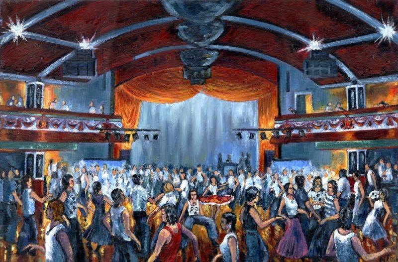 Six Greeting Cards, Dancers at Wigan Casino