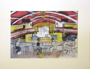"""""""23rd September 1973, Prep 1"""" - Original Water Colour Painting, Mounted and Backed Ready for Framing"""