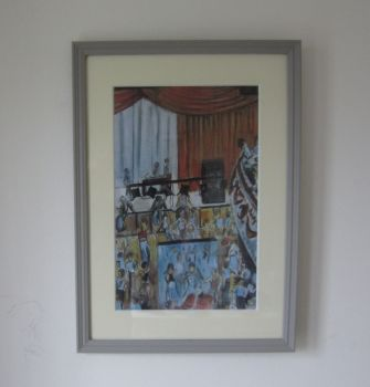 """""""Above the Blue Lamp"""" - A Framed Limited Edition Print"""