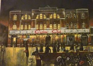Casino Oil Painting