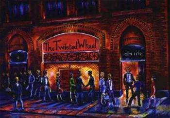 """The Twisted Wheel"" - Original Acrylic Painting on Art Board"