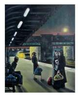 """""""Come on Train"""" - Signed Limited Edition Print, 100 copies commissioned"""
