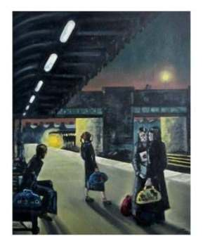 """Come on Train"" - Signed Limited Edition Print, 100 copies commissioned"