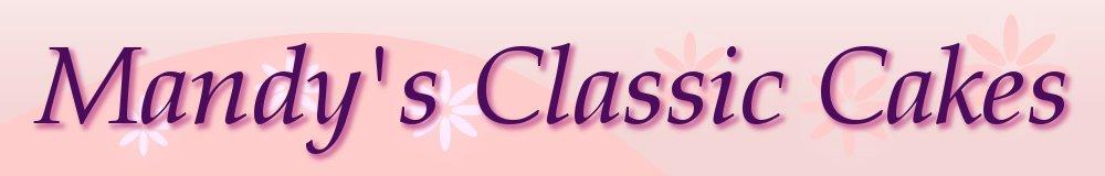 Mandy's Classic Cakes, site logo.
