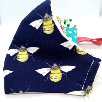Folly Bloom. Cotton Bee Face coverings/masks.