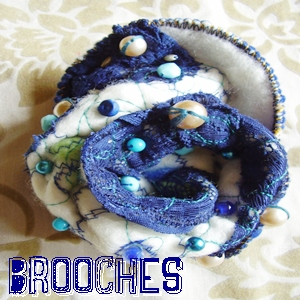 Folly Bloom Brooches.