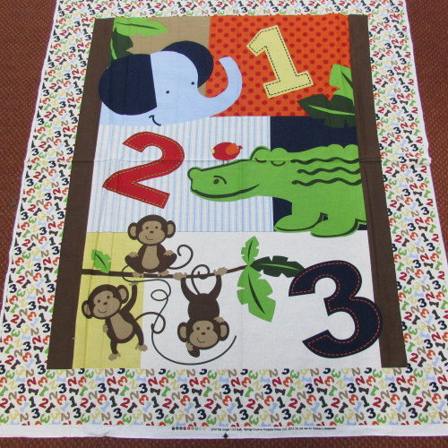 Cot Quilt / Playmat Wall Hanging - Panel to Make - Cotton