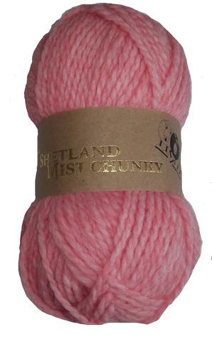 Shetland mist Chunky Col. 07 Pink