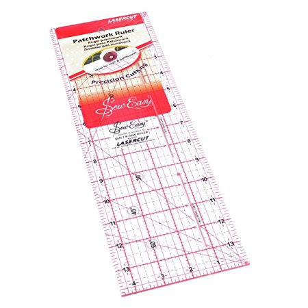 Patchwork Ruler 14 x 4.5 inches