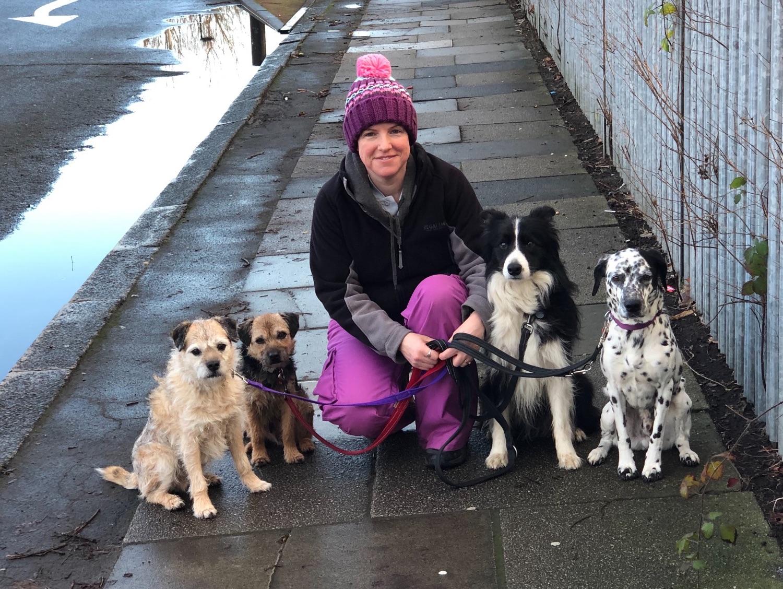 The Ruff Diamond Dog Training Team