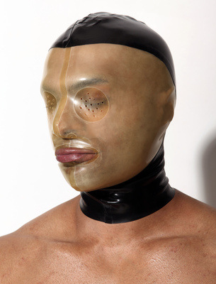 Panelled Hood with Translucent Face