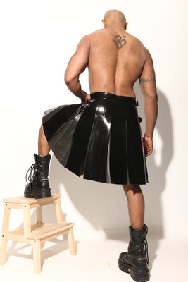 Heavy-weight Pleated Kilt