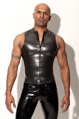 Sleeveless T Shirt - concealed zip