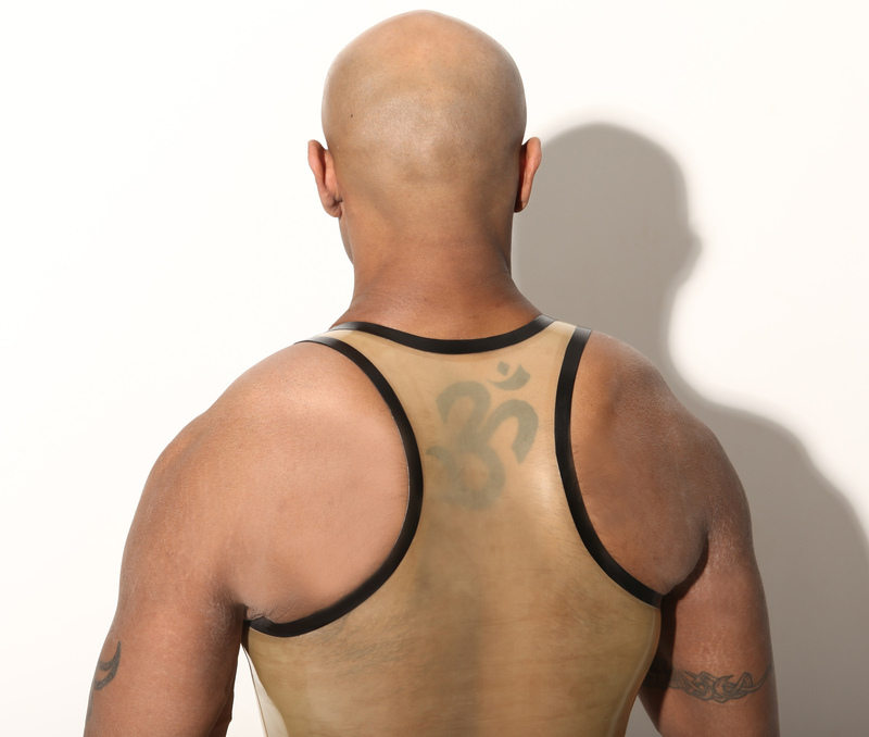 Athletic vest - back